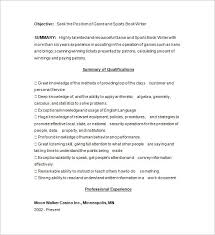 Resume Outline Examples by Writer Resume Template U2013 24 Free Samples Examples Format