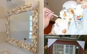 Marvelous DIY Shell Mirror