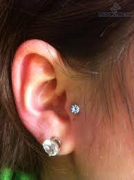 stud for ear piercing lobe piercing with stud for ear