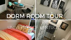 dorm room tour university of kentucky youtube