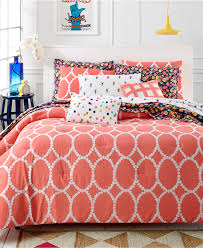 martha stewart whim collection coral mirror mirror 5 pc comforter