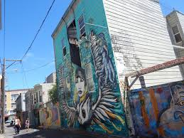 clarion alley murals mission district seen in san francisco house in clarion alley art and graffiti