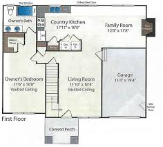 vaulted ceiling floor plans floor plans u2013 barry andrews homes