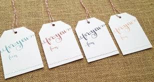 Wedding Gift Tags Printable Wedding Gift Tag Templates Wedding Invitation Sample