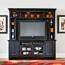 Wall Units For Flat Screen Tv Elegance 58 In Tv Console With Curio Cabinet Hayneedle