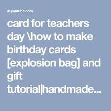 the 25 best birthday card for teacher ideas on pinterest diy
