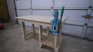 Reloading Bench Plan Reloading Bench Build Easy 4 U0027 Reloading Bench Youtube