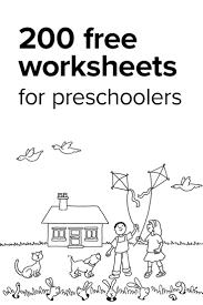 preschool and kindergarten worksheets worksheets