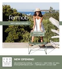 New Outdoor Furniture by Fermob French Outdoor Furniture Opens Trade Showroom In New York