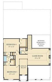 Game Room Floor Plans Alabaster New Home Plan In Wildwood At Oakcrest Brookstone