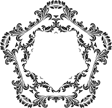 ornamental floral design 28 domain vectors