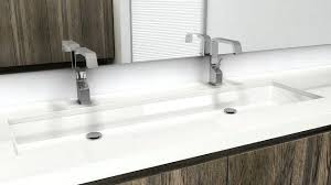 trough sink with two faucet u2013 meetly co