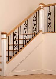 Banister Railing Parts Palermo Forged Iron Stair Parts Are Available In Flat Black