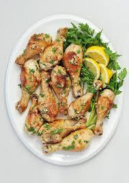 lemon garlic chicken drumsticks popsugar food