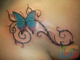 11 best zebra on back small butterfly tattoos images on pinterest