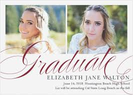 high school graduation announcement high school invitations salem design wedding archive
