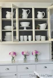 what type of paint for inside kitchen cabinets honey we re home painted kitchen cabinets painted kitchen