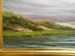 cape cod dunes oil painting by robin wessman from clean oil