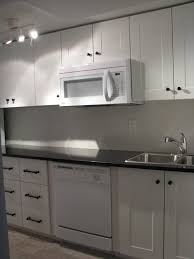Kitchen Off White Cabinets Kitchenette With Adel Off White Cabinets And India Black Galaxy