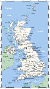 Map Of The British Isles Introduction To Culture Studies Sose 2017
