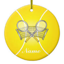 tennis ornaments keepsake ornaments zazzle