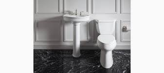Kohler Archer Pedestal Sink by Willamette Pedestal Bathroom Sink K R6385 8 Kohler