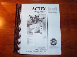 actex study manual soa exam c cas exam 4 volume 1 u00262 amazon es
