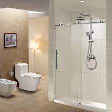 frameless sliding shower door 56 60 in width 76