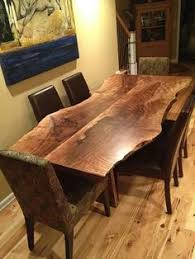 Walnut Live Edge Table by By Jeff Harden Denton Tx Us 76205 Wood Slabs Natural Edge