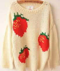 strawberry sweater strawberry sweater on the hunt