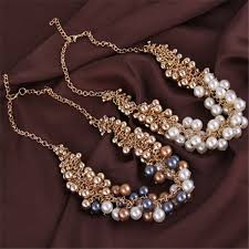 necklace pearl ebay images Cheap wholesale ebay modern design big chunky pearl necklace in jpg