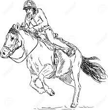 cartoon horse jumping stock photos royalty free cartoon horse