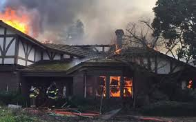 Wildfire Wedding Photos custom home burns north of oakdale on river road the modesto bee