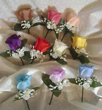 How To Make Corsages And Boutonnieres Mens Boutonniere Ebay