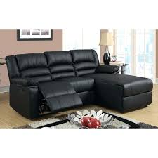 Reclining Sofa Chaise by Recliner Design Appealing Madison Modern Small Space Sectional
