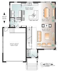 house plan layout w3880 large modern house plan 4 bedrooms open floor plan