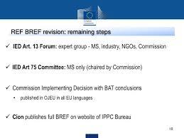European Ippc Bureau European Commission Ppt The Industrial Emissions Directive Ied 2010 75 Eu