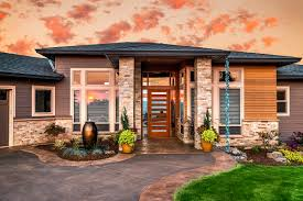 decor front facade with indian home door design and window