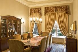 Traditional Formal Dining Room Furniture by Great Dining Room Curtain Traditional Formal Dining Room With Gold
