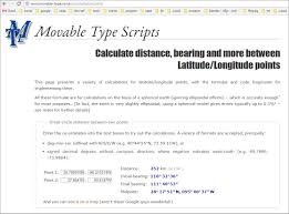 Map Distance Calculator Apperceptions Museum Math And Mapping Fun
