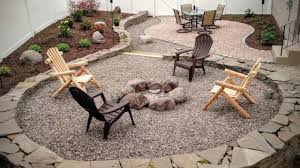 building a backyard patio and firepit youtube