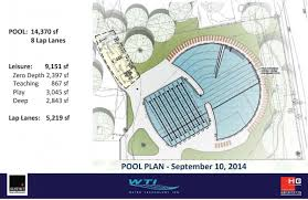 outdoor pool project campus recreation