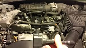 nissan altima coupe specs 2008 2007 nissan altima 2 5l ignition coils replaced youtube