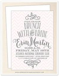 invitations for bridal luncheon bridal shower or bridal brunch invitation by aestheticjourneys