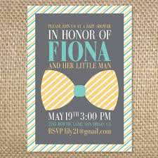 bow tie baby shower designs bow tie baby shower invitations in honor of fiona and h on
