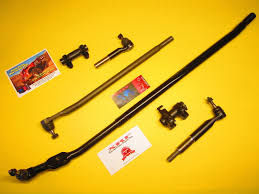 2006 Dodge 3500 Truck Parts - 6 piece inner outer tie rod drag link new u201ct u201d style steering kit
