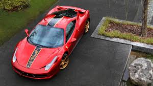 gold ferrari 458 italia special edition ferrari 458 italia announced top gear