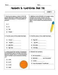 common core math activities u0026 checklist grade 4 teacherlingo com