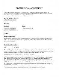 room room rental lease agreement home interior design simple
