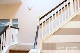 Stair Railings And Banisters Hickory Hardwood Flooring And Staircase Makeover
